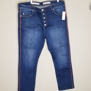 Pilcro and Letterman Anthropologie jeans